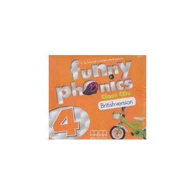 Funny phonics 4 Class CD's British version ( Editura: MM Publications, Autor: H. Q. Mitchell, Marileni Malkagianni ISBN 978-960-478-881-1 )