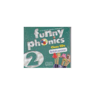 Funny phonics 2 Class CD's British Version ( Editura: MM Publications, Autor: H. Q. Mitchell, Marileni Malkogianni ISBN 978-960-478-879-8 )