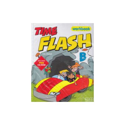 Time flash B Workbook + CD-rom ( Editura: MM Publications, Autor: H. Q. Mitchell, ISBN 9789603798989 )