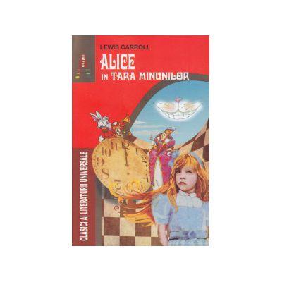 ALICE in Tara Minunilor ( Editura: Astro, Autor: Lewis Carroll ISBN 9786068148878 )