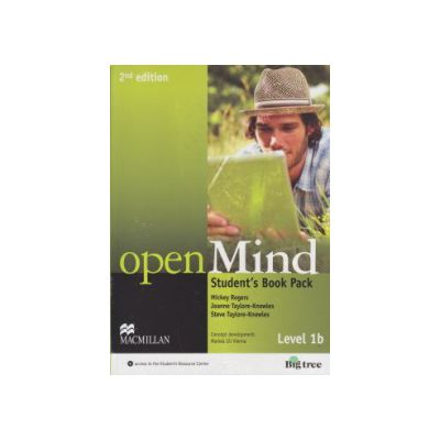 Open Mind Student 's Book Pack Level 1b 2nd edition with DVD ( Editura: Macmillan, Autor: Mickey Rogers, Joanne Taylore-Knowles, Steve Taylore-Knowles ISBN 9780230459106 )