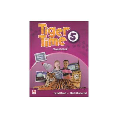 Tiger Time 5 Student's Book ( Editura: Macmillan, Autor: Carol Read, Mark Ormerod ISBN 9780230484153 )