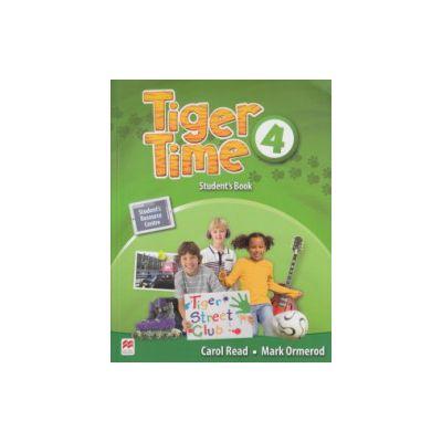 Tiger Time 4 Student's Book ( Editura: Macmillan, Autor: Carol Read, Mark Ormerod ISBN 9780230484054 )