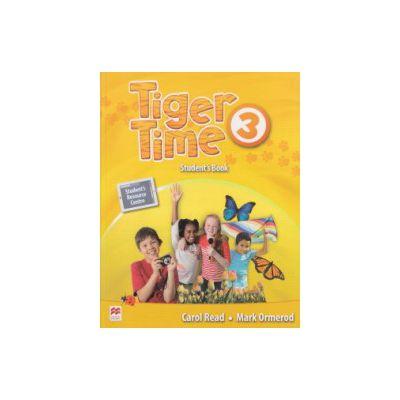 Tiger Time 3 Student's Book ( Editura: Macmillan, Autor: Carol Read, Mark Ormeron ISBN 9780230484009 )