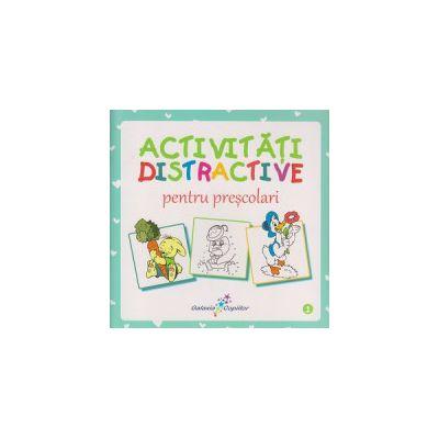 Activitati distractive pentru prescolari 1 ( Editura: All ISBN 978-606-8578-50-7 )
