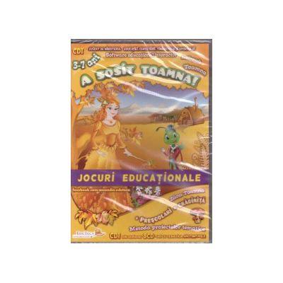 A sosit toamna - jocuri educationale prescolari, gradinita - 3-7 ani ( editura: EduTeca, ISBN 9786069311103 )