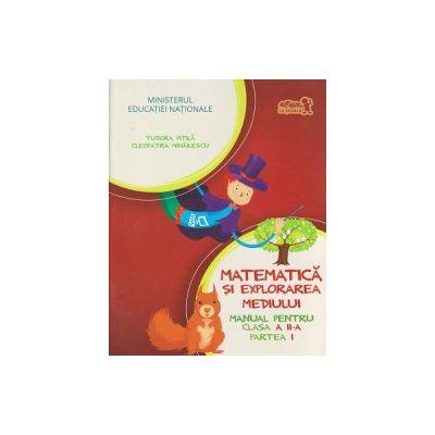 Matematica si explorarea mediului Manual pentru clasa a II a, partea I+CD ( Editura: Art Grup Editorial, Autor: Tudora Pitila, Cleopatra Mihailescu ISBN 9786067101317 )