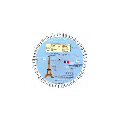 Discheta verbelor - limba franceza ( editura: Verba, autori: Camelia Stan, Dragoş Stan, ISBN 9789738828216 )