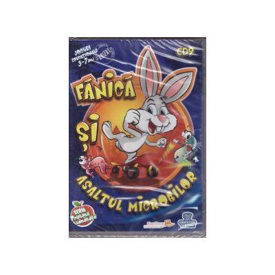 Fanica si asaltul microbilor - Jocuri educationale 3-7 ani ( editura: EduTeca, ISBN 9786069311196 )