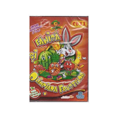 Fanica si Olimpiada fructelor - CD cu jocuri si educationale 3-7 ani ( editura: EduTeca, ISBN 9786069351123 )