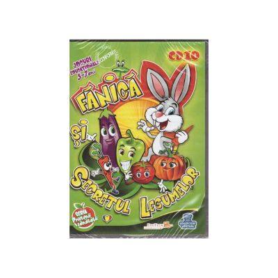 Fanica si secretul legumelor - CD cu jocuri educationale 3-7 ani ( editura: EduTeca, ISBN 9786069351116 )