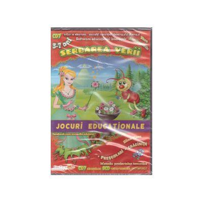Serbarea verii - CD cu jocuri educationale 3-7 ani ( editura: EduTeca, ISBN 9786069311165 )