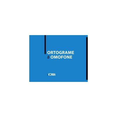 Ortrograme si omofone ( editura: Verba, autor: Camelia Stan, ISBN 9789738828186 )