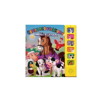 Cartea mea vorbitoare: Animale de la ferma (editura: Flamingo GD, ISBN 9786067130485 )