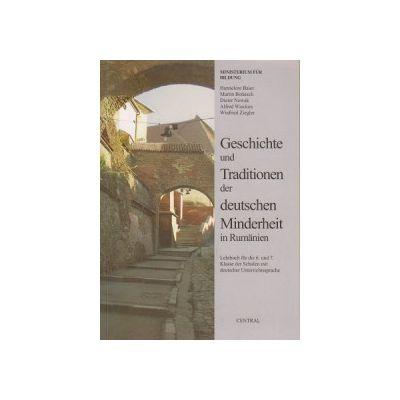 Istoria si traditiile minoritatilor germane din Romania, Manual pentru clasele a VI-a si a VII-a din scolile cu predare in limba germana ( Editura: Central ISBN 9789738707672 )