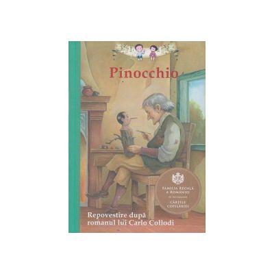 Pinocchio, repovestita dupa romanul lui Carlo Collodi ( Editura: Curtea Veche ISBN 978-606-588-718-3 )