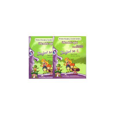 Fairyland 3 (A + B) - Limba moderna engleza clasa a III-a semestrul I + II (set) cu CD ( editura: Express Publishing, autor: Jenny Dooley, Virginia Evans, ISBN 200-0-00001-152-3 )
