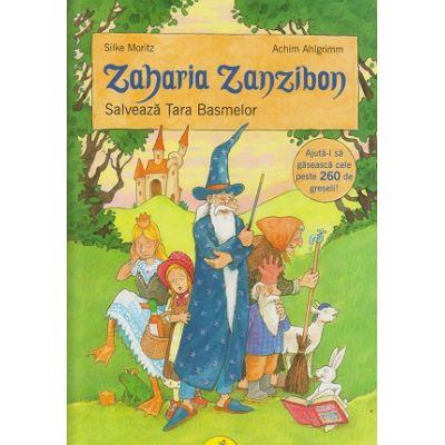 Zaharia Zanzibon Vol. III, Salveaza tara basmelor ( Editura: Galaxia Copiilor, Autor: Silke Moritz ISBN 978-606-8578-05-7 )