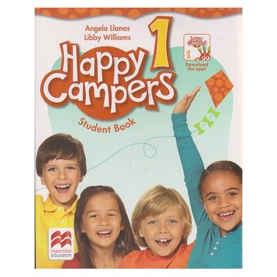 Happy Campers 1 Student' s Book + The Language Lods ( Editura: Macmillan, Autor: Angela Llanas, libby Williams ISBN 9780230470705 )