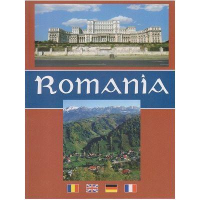 Album Romania Romana/Engleza/Franceza/Germana ( Editura: Alcor ISBN 9789738160736 )