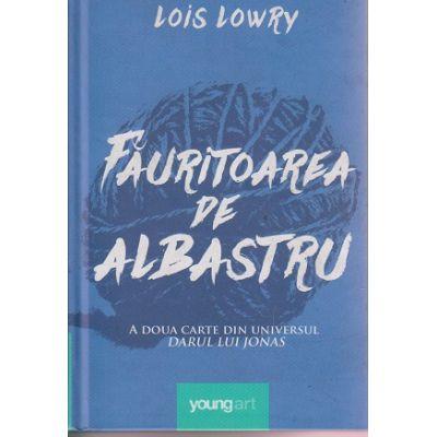 Fauritoarea de albastru ( A doua carte din universul Darul lui Jonas ) ( Editura: Art Grup Editorial, Autor: Lois Lowry ISBN 978-606-93962-8-5 )