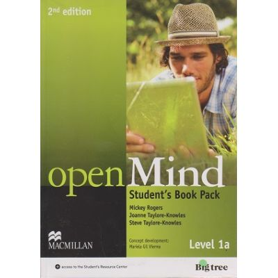 Open Mind Student s Book Pack Level 1 A, Second Edition + DVD ( Editura: Macmillan, Autor: Mickey Rogers, Joanne Taylore-Knowles, Steve Taylore-Knowles ISBN 978-0-230-45909-0 )