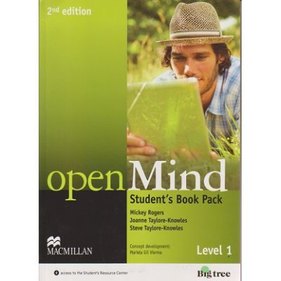 Open Mind Student s Book Pack Level 1 Second Edition Level 1 + DVD ( Editura: Macmillan, Autor: Mickey Rogers, Joanne Taylore-Knowles, Steve Taylore-Knowles ISBN 978-0-230-45908-3 )