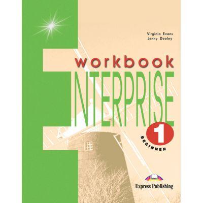 Curs limba engleză Enterprise 1 Caietul elevului ( Editura: Express Publishing, Autor: Virginia Evans, Jenny Dooley ISBN 9781842160916 )