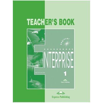 Curs limba engleză Enterprise 1 Manualul profesorului ( Editura: Express Publishing, Autor: Virginia Evans, Jenny Dooley ISBN 9781842160909 )