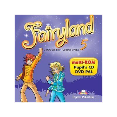 Curs lb. engleza Fairyland 5 – MULTI-ROM 978-1-78098-921-1 ( Editura: Express Publishing, Autor: Jenny Dooley, Virginia Evans ISBN 978-1-78098-921-1 )