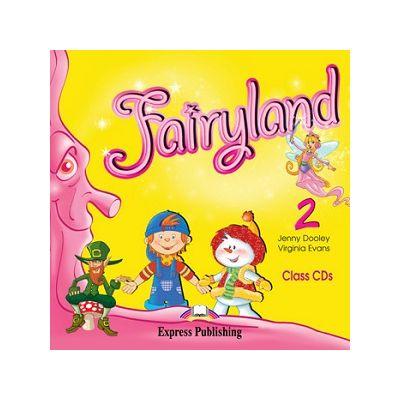Curs limba engleză Fairyland 2 Audio CD ( Editura: Express Publishing, Autor: Jenny Dooley, Virginia Evans ISBN 978-1-84679-671-5 )