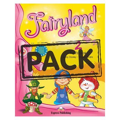 Curs lb. Engleza – Fairyland 2 – Pachetul elevului (manual + ieBook ) ( Editura: Express Publishing, Autor: Jenny Dooley, Virginia Evans ISBN 9781780980102 )