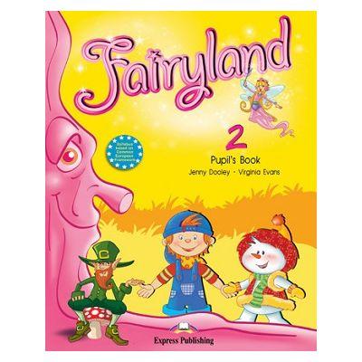 Curs limba engleză Fairyland 2 Manualul elevului( Editura: Express Publishing, Autor: Jenny Dooley, Virginia Evans ISBN 978-1-84679-654-8 )
