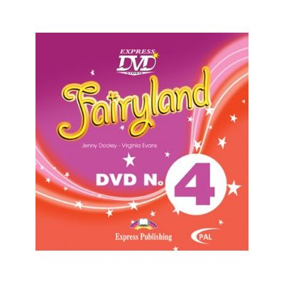 Curs Lb. Engleza Fairyland 4 DVD ( Editura: Express Publishing, Autor: Jenny Dooley, Virginia Evans ISBN 978-1-84679-798-9 )