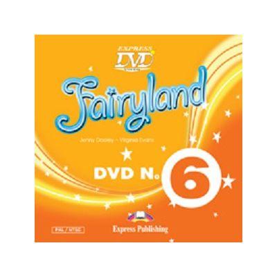 Curs Lb. Engleza Fairyland 6 DVD ( Editura: Express Publishing, Autor: Jenny Dooley, Virginia Evans ISBN 978-1-78098-764-4 )
