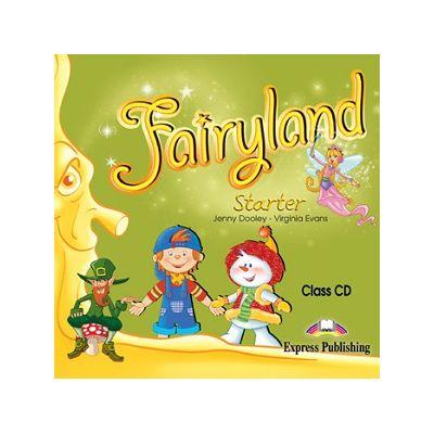 Curs Lb. Engleza – Fairyland Starter Audio CD ( Editura: Express Publishing, Autor: Jenny Dooley, Virginia Evans ISBN 978-1-84679-989-1 )