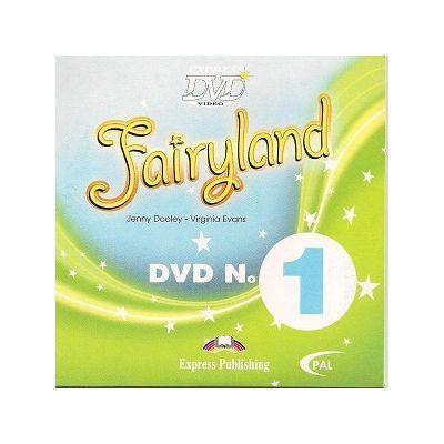Curs limba engleză Fairyland 1 DVD ( Editura: Express Publishing, Autor: Jenny Dooley, Virginia Evans ISBN 978-1-84679-946-4 )