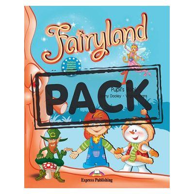 Curs lb. Engleza – Fairyland 1 Pachetul elevului (manual + ieBook ) ( Editura: Express Publishing, Autor: Jenny Dooley, Virginia Evans ISBN 978-1-78098-009-6)