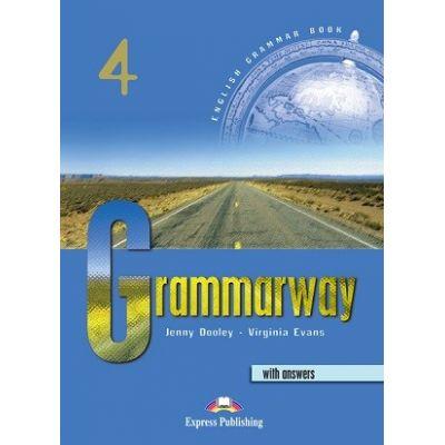 Curs de gramatică limba engleză Grammarway 4 cu răspunsuri Manualul elevului ( Editura: Express Publishing, Autor: Jenny Dooley, Virginia Evans ISBN 9781842163689 )
