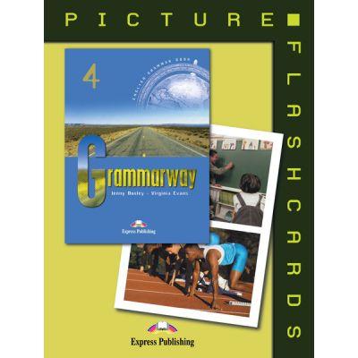 Curs de gramatică limba engleză Grammarway 4 Picture flashcards ( Editura: Express Publishing, Autor: Jenny Dooley, Virginia Evans ISBN 978-1-903128-99-2 )