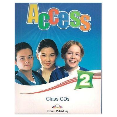 Curs limba engleză Access 2 Audio CD (set 4 CD) ( Editura: Express Publishing, Autor: Virginia Evans, Jenny Dooley ISBN 978-1-84862-310-1 )