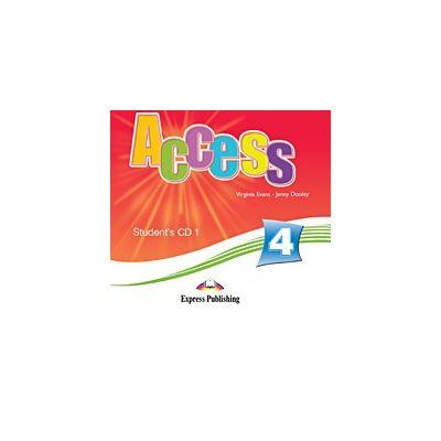 Curs limba engleza Access 4 Audio CD 1 Elev ( Editura: Express Publishing, Autor: Virginia Evans, Jenny Dooley ISBN 978-1-84862-060-5 )