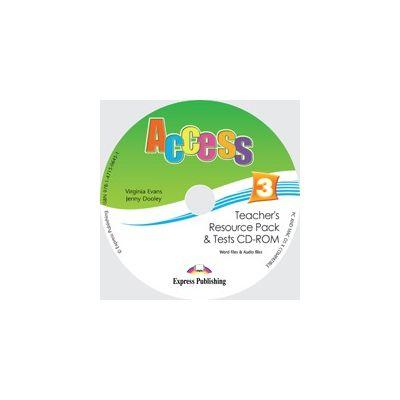 Curs limba engleza Access 3 material aditional pentru profesor cu teste CD-ROM ( Editura: Express Publishing, Autor: Virginia Evans, Jenny Dooley ISBN 978-1-4715-0645-1 )