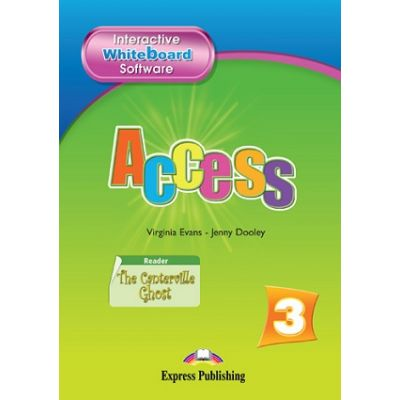 Curs limba engleză Access 3 Soft pentru tabla interactiva ( Editura: Express Publishing, Autor: Virginia Evans ISBN 9781848622487 )