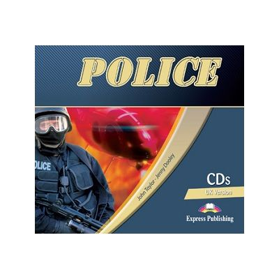 Curs limba engleză Career Paths Police Audio CD (Set of 2) ( Editura: Express Publishing, Autor: John Taylor, Jenny Dooley ISBN 978-0-85777-873-4 )