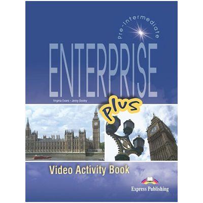 Curs limba engleză Enterprise plus DVD la caietul elevului ( Editura: Express Publishing, Autor: Virginia Evans, Jenny Dooley ISBN 978-1-84466-169-5 )