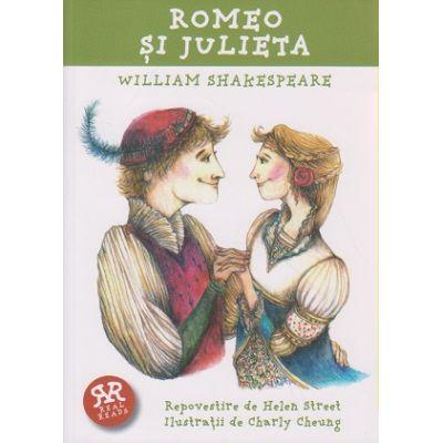 Real reads-Romeo si Julieta ( Editura: Curtea Veche, Autor: William Shakespeare ISBN 978-606-588-788-6 )