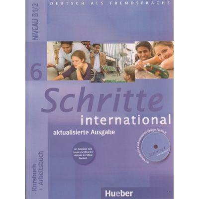 Schritte international Kursbuch + Arbeitscbuch 6 Niveau B1/2 + CD Aktualisierte Ausgabe