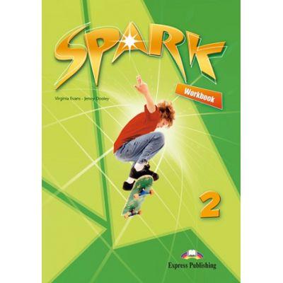 Curs lb. engleza SPARK 2 Monstertrackers – Caietul elevului CU DIGIBOOK APP ( Editura: Express Publishing, Autor: Virginia Evans, Jenny Dooley ISBN 9781471565823 )