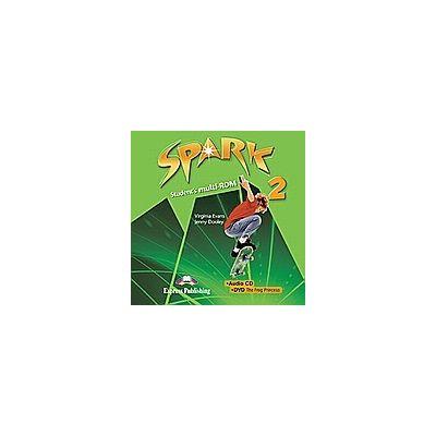 Curs lb. engleza SPARK 2 Monstertrackers – MULTI-ROM ( AUDIO CD + DVD ) ( Editura: Express Publishing, Autor: Virginia Evans, Jenny Dooley ISBN978-1-84974-655-7 )